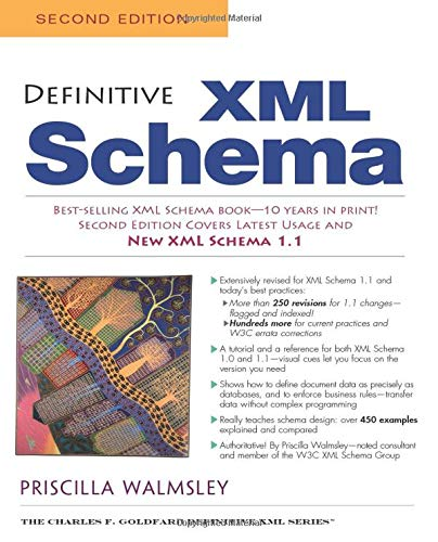 Definitive XML Schema Second Edition (Charles F. Goldfarb Definitve XML)