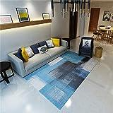 HXJHWB Alfombra Pasillo Cocina Diseño - Pintura de Tinta de Arte Abstracto Interior 3D Impresión 3D Alfombra Sala de Estar Sala de Estar Habitación Fácil cuidado-120cmx160cm