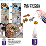 Désincrustant anti-rouille en aérosol, aérosol inhibiteur de corrosion et de rouille à usage intensif, agent de protection des métaux et lubrifiant antirouille -30/50ml par bouteille (50ml)