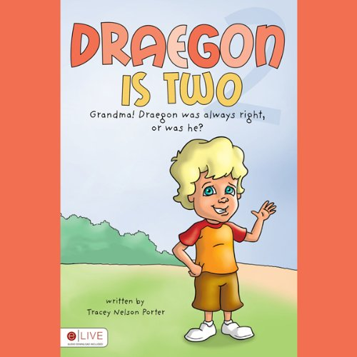 Draegon is Two audiobook cover art