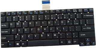 Laptop Keyboard for Sony SVT14 SVT14124CXS SVT14125CXS SVT14126CXS SVT14127CXS SVT141290X SVT1412ACXS Black US English Edi...
