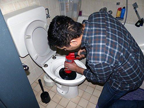 Rothenberger IndustrialPressluft Rohrreiniger (4 bar) zur Reinigung verstopfter Abflüsse im Bad oder WC - 7