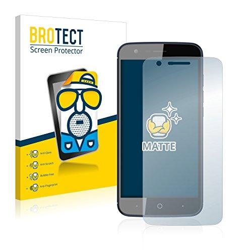 BROTECT 2X Entspiegelungs-Schutzfolie kompatibel mit ZTE Blade V8 Lite Bildschirmschutz-Folie Matt, Anti-Reflex, Anti-Fingerprint