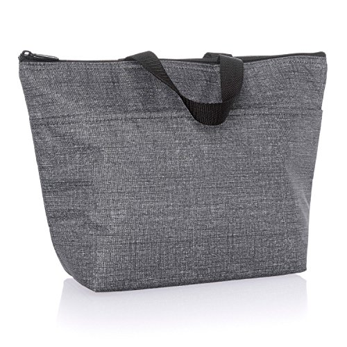 Thirty One Thermal Tote 3000 Charcoal Crosshatch