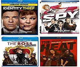 Melissa McCarthy COLLECTION Spy/The Heat/Identity Thief/THE BOSS