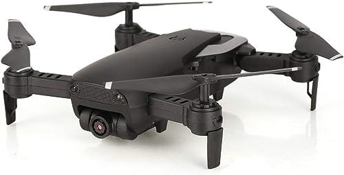 JohnJohnsen 668-Q1W 720P RC Pliable Drone RC Quadcopter avec caméra HD Altitude Attente hélicoptère Photo aérienne en Direct Transmission vidéo (Blanc)
