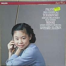 Niccolò Paganini , Pyotr Ilyich Tchaikovsky , Midori Goto , Leonard Slatkin - Violin Concerto No.1 / Sérénade Mélancolique / Valse Scherzo - Philips - 420 943-1
