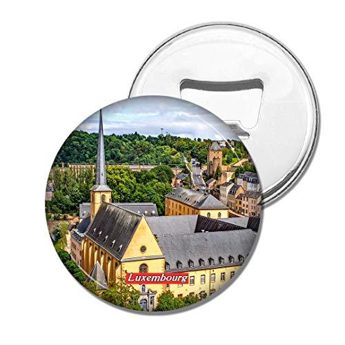 Weekino Luxemburg Bier Flaschenöffner Kühlschrank Magnet Metall Souvenir Reise Gift