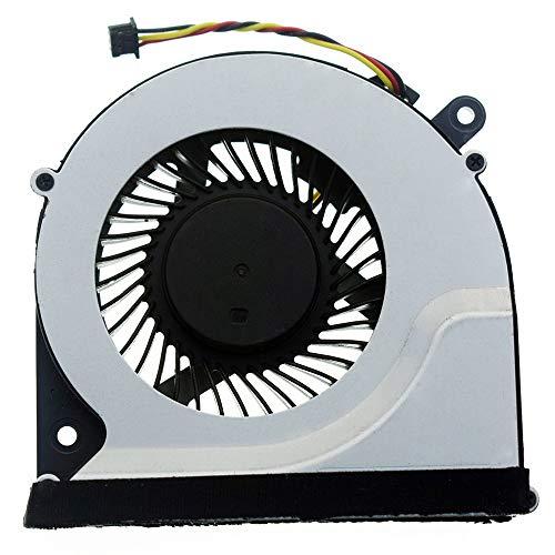 DREZUR - Ventilador de refrigeración de CPU de 3 pines compatible con Toshiba Satellite C850 C855 C870 C875 L850 L870 L870D L875 L875D Series Enfriador de portátil