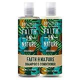 Faith In Nature Set di Shampoo e Balsamo Cocco