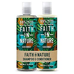 Save on your favourite Coconut shampoo & conditioner, available together in a pack. This natural coconut set contains organic coconut oil and is brimming with tropical aromas and natural hydration Ideal for normal to dry hair, created with natural in...