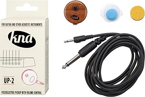KNA Tonabnehmer KNA up-2Universal Tonabnehmer für Gitarre und anderen akustischen Instrumenten mit Lautstärkeregler
