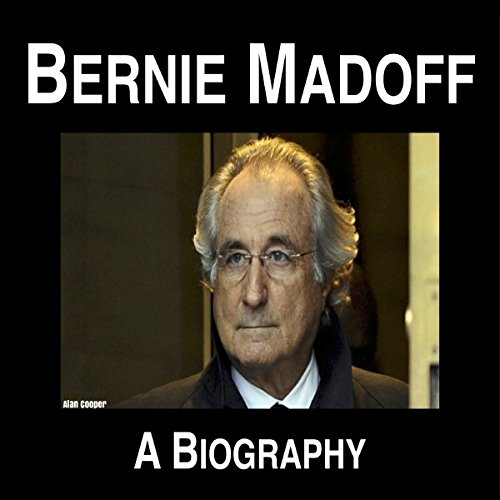 Bernie Madoff audiobook cover art