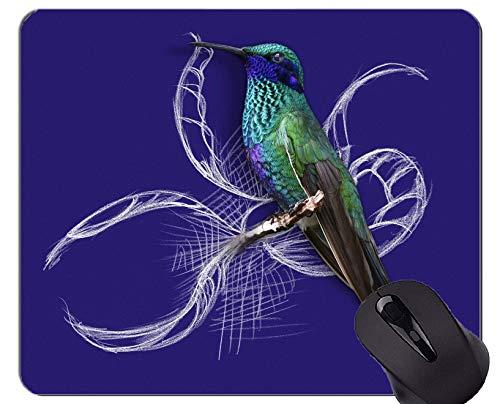 Yanteng Aduana del cojín de ratón del Juego, Naturaleza del Ejemplo del pájaro del colibrí Alfombrilla de ratón
