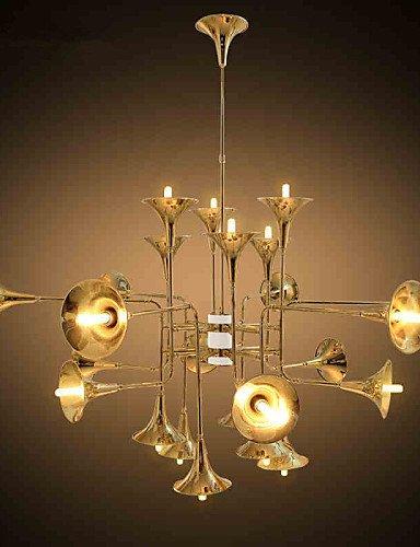 5 Tiffany / Rustikal Ministil Galvanisierung Metall Kronleuchter Wohnzimmer / Schlafzimmer / Esszimmer / Spielraum , 220-240v