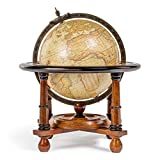 Authentic Models GL023F - Bola del mundo con reproducción cartográfica de G. Mercator 1541