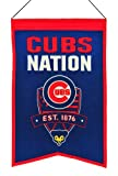 MLB Baseball Chicago Cubs Nation Wimpel Pennant Wool Blend Banner 54x35 -