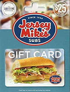 jersey mike's gift card deal
