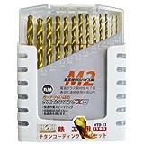 H&H チタンコーティングドリルセット 13PCS HTD-13 350205
