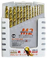三共コーポレーション H&H チタンコーティングドリルセット 13PCS HTD-13 350205