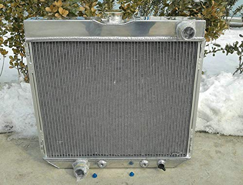 3-reihiger Aluminium-Kühler für 1967-1970 For-d Mustang/Ranchero/Torino/Mercury Cougar XR7/Comet 4,7 l/5,0 l V8 Fairlane/Maverick