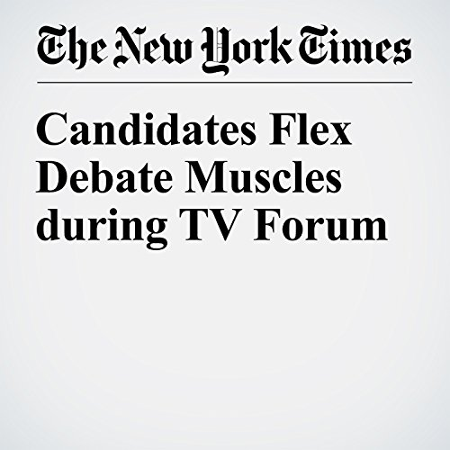 Candidates Flex Debate Muscles During TV Forum cover art