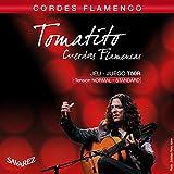 Savarez Cuerdas para Guitarra Clásica Flamenco juego T50R Tensión estandard, rojo