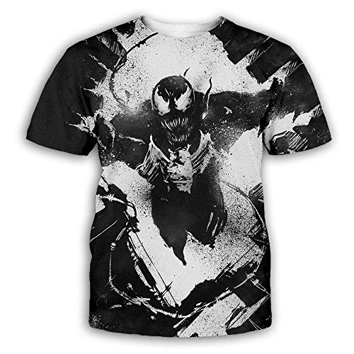 Cosmos Men's Ahegao Printed T-Shirt 3D Printed Short Sleeve Vt-06-tx 4X-Large-5X-Large