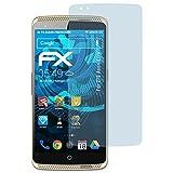 atFolix Schutzfolie kompatibel mit ZTE Axon Elite Folie, ultraklare FX Bildschirmschutzfolie (3X)
