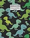 """Really Big Sketchbook 8.5"""" X 11"""" 110 Pages Drawing Sketch Paper Journal: Cute Dinosaur,Jurassic Period,Practice ... Pads, Sketch Pads, And Artist Journals)"""