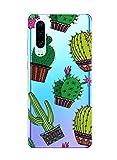Suhctup Funda Compatible con Motorola Moto P30 Play Case Cárcasa Silicona Gel TPU Bumper Caso Transparente Clear Floral Dibujos Diseño Antigolpes Anti-Arañazos Protection Cover,Floral 16