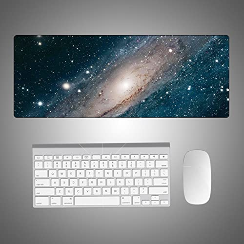 estera escritorio de la computadora 1000x500x3mm   Alfombrilla de ratón XXL   tapete de mesa / tamaño grande   precisión y velocidad mejoradas   base de goma para un agarre estable en superficies lisa