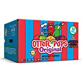 Otter Pops Freezer Ice Bars, Fat Free Ice Pops, Original Flavors (80 - 1 oz pops)