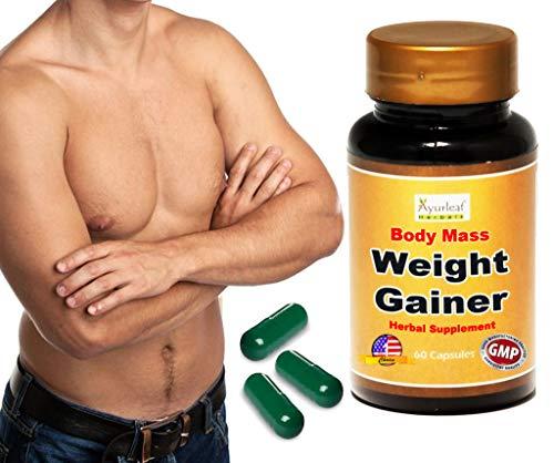 Ayurleaf Weight Gainer Men S Weight Gain Formula Mass Gainer Gain Weight Pills For Men 1 2 3 Or 4 Bulk Packs Buy Online In Antigua And Barbuda At Antigua Desertcart Com Productid 26555907