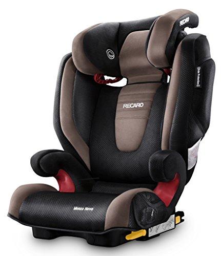 Recaro Monza Nova 2 Seatfix, Silla de coche grupo 2/3, marrón (Mocca)