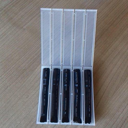10 x Beizpinsel mit M10 Innengewinde Messingkern 70mm