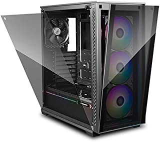DEEPCOOL MATREXX 70 ADD-RGB 3F Mid-Tower Case 3x120mm ADD-RGB Fans Modular design Full-size Tempered Glass