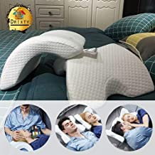 Darbar Online Cuddle Pillow Multi-Function Pillow Couple Pillow Office nap Memory Sponge, Cool and Comfortable, no Pressure on The arm