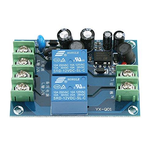 CA 85-240V Interruptor de alimentación de 2 vías 110V 220V 230V 10A Fuente de alimentación dual Módulo controlador de conmutación automática YX-Q01