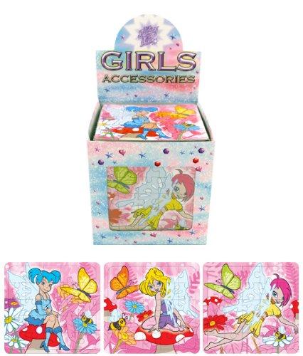 Kressies - Puzzle Enfant Fille Motif Fée Lot x6
