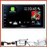 SPH-DA120 2-DIN Moniceiver CarPlay Bluetooth Freisprecheinrichtung Einbauset für Skoda Octavia 2 Yeti 5L