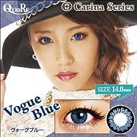カラコン 度なし 1箱2枚入り QuoRe Carina Series/ソブレ/119223 14.0mm【VogueBlue--0.00】