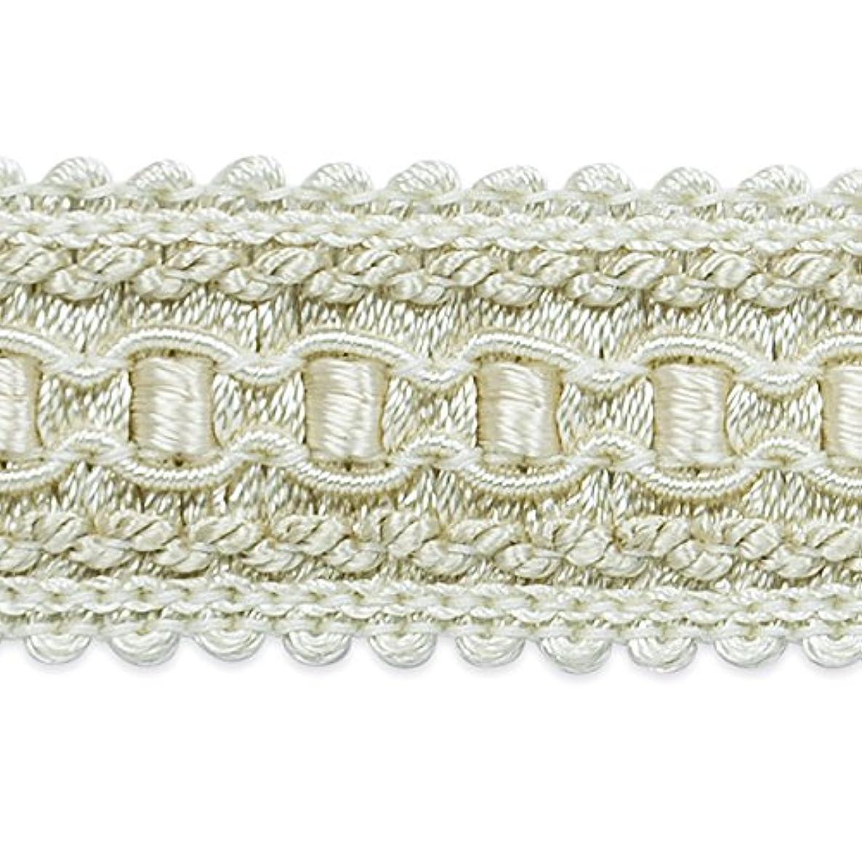 Expo International Bella Woven Braid Trim, 10 yd, Ivory