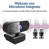 Zoom IMG-2 niyps webcam per pc con