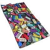 JULOE Asciugamani per Piatti Lego Kitchen Canovaccio Asciugamano Super Assorbente in Microfibra per Pulizie domestiche, Cucina, Lavaggio Auto, lavastoviglie