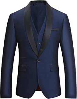 ab11afa67ef Costume Homme Tuxedo Diner Trois-pièces d affaire Mariage Business Suit Un  Bouton à