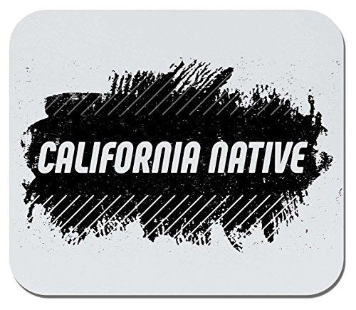 Makoroni - California Native - Non-Slip Rubber Gaming Office Mousepad, t60