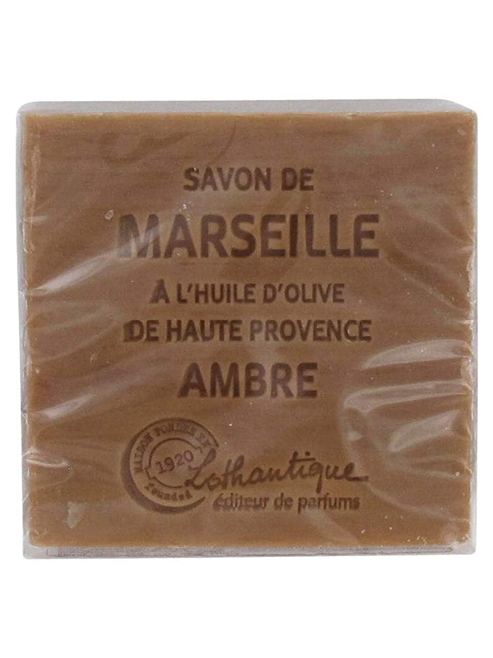 のヒープ者閉じるLothantique(ロタンティック) Les savons de Marseille(マルセイユソープ) マルセイユソープ 100g 「アンバー」 3420070038012