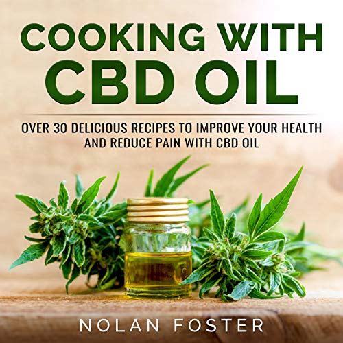 Cooking with CBD Oil cover art