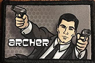 Archer Morale Funny Military Tactical Patch. Perfect for Your Army Gear,Rucksack, Backpack, Operator Baseball Cap, Plate Carrier or Vest. 2x3